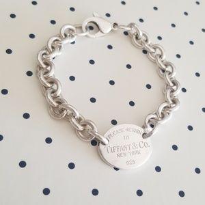 Please Return To Tiffany & Co silver bracelet